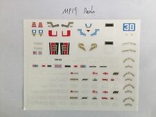 Eness Detail decals (Revised Version)for Transformers MP19 Smokescreen,In stock!