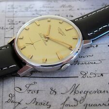 Classic Mens Vintage Swiss Made LONGINES SILVER ARROW watch 1960s