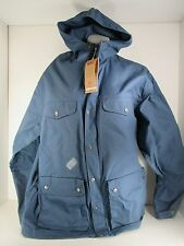 Fjallraven Greenland Jacket Men's Uncle Blue Zip Up Sz XL