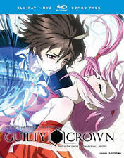 Guilty Crown : The Complete Series ( Blu-ray + DVD , 8-Discs Box  w/ slipcover)