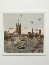 PETER BLAKE. Private view invitation card, Paul Stolper gallery, 2012