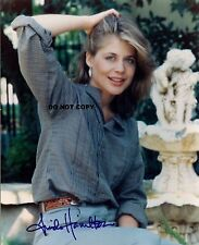LINDA HAMILTON 8X10 AUTHENTIC IN PERSON SIGNED AUTOGRAPH REPRINT PHOTO RP
