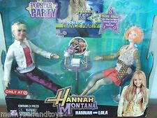 Hannah Montana Doll Lola Doll Popstar Party Bonus CD 3 Songs Disney Toy
