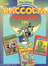 FUMETTO=TOPOLINO RACCOLTA N°134CONTIENE I NN° 1976-1977-1978 DEL 1993
