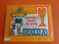RARA BUSTINA FIGURINE PANINI MEXICO 70 INTERNAZIONALE NUOVA SIGILLATA
