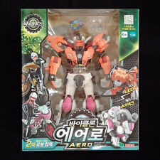 Young Toys BIKLONZ AERO Leo Aries Transformers Robot Figure set Korean Animation