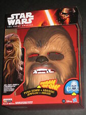STAR WARS FORCE AWAKENS CHEWBACCA ELECTRONIC MASK W SOUND HASBRO YOUTUBE LAUGH