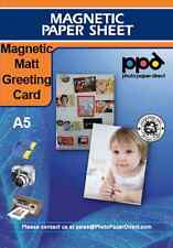 Blank A5 Printable Magnetic Greeting Cards Matt X 10
