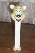 PEZ Winter Bear Christmas Series Dispenser With Feet Hungary 1998 Collectible