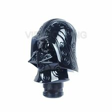Black Star Wars Darth Vader Head Stick Shifter Lever Shift Knob Gear Customized