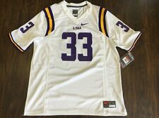 Authentic Nike LSU Tigers Louisiana State College Football NCAA Jersey Large L