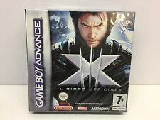 X-MEN UFFICIALE MARVEL NINTENDO GAMEBOY ADVANCE ORIGINALE NUOVO ITALIANO