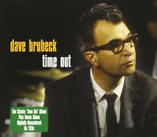 DAVE BRUBECK TIME OUT / GONE WITH THE WIND NEW 2CD FIFTIES JAZZ ALBUM