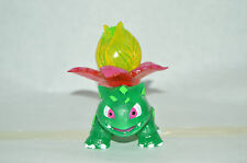 VERY RARE TOY MEXICAN FIGURE BOOTLEG POKEMON IVYSAUR FIGURE WITH LIGHT 4.5IN