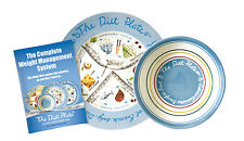 The Diet Plate® & bowl | FEMALE weight loss system | Easy Weight Loss | ORIGINAL