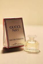 GUCCI No 3 - 1 ml  Eau de Toilette  - Parfum Miniatur mit Box - EDT