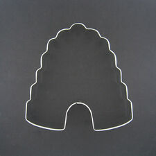 """BEEHIVE WITH NOTCH 4"""" METAL COOKIE CUTTER BIRTHDAY PARTY STENCIL NEW"""