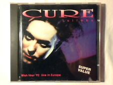 CURE Lullaby - Wish tour '92 live in Europe cd ITALY UNIQUE