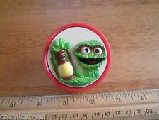 The Muppets Oscar the Grouch plug in night light 1970's needs bulb Sesame street