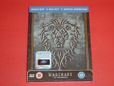 Warcraft 2D/3D Zoom Exclusive Steelbook Limited to 2,000 Embossed & Sold Out