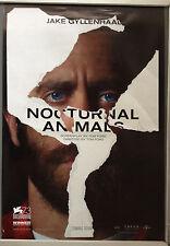 Cinema Poster: NOCTURNAL ANIMALS 2016 (Jake Gyllenhaal One Sheet) Amy Adams