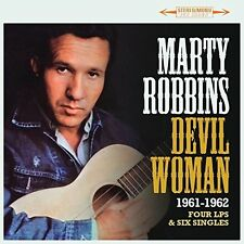 Marty Robbins - Devil Woman: Four LPs & Six Singles 1961-1962 [New CD] UK - Impo
