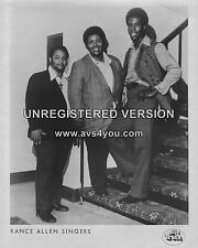 "Rance Allen Singers 10"" x 8"" Photograph no 1"