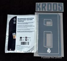 Real Madrid Kroos 8 2015/16 Football Shirt Name/Number Set Home Player Size