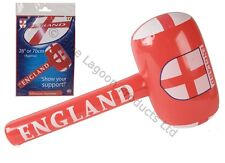 71cm Inflatable England Basher Blow Up Football St George Party Fancy Dress