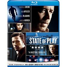 State of Play (Blu-ray Disc, 2009, Widescreen) English, French & Spanish Audio