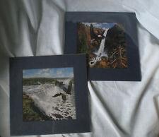 """Frank D Miller """"Niagara Falls""""  & Yosemite's Prints NIP"""