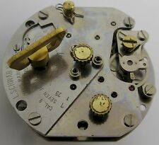 small 8 days Swiza clock L Schwab SA cal. 8 7 jewels complete movement for part