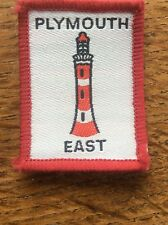 Vintage Cloth Patch Scout Badge Scouting Memorabilia Plymouth East Devon