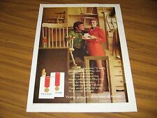 1971 Print Ad Viceroy Cigarettes Happy Couple & Unfinished Furniture