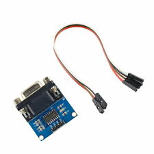 MAX3232 RS232 Serial Port To TTL Converter Module DB9 Connector With Cable LS