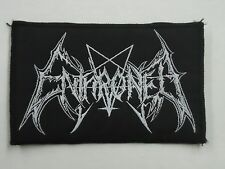 ENTHRONED BLACK METAL WOVEN PATCH