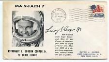 1963 MA 9-Faith 7 Astronaut Gordon Cooper Cape Canaveral SIGNED ? SPACE NASA USA