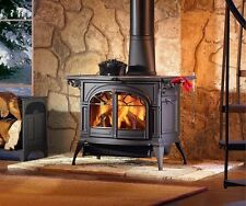 Vermont Castings Wood Stove Defiant Flex Burn Cast Iron  BLACK OPEN BOX- NEW