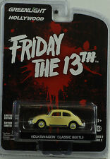 Movie Friday the 13th Volkswagen Classic Beetle 1:64 Greenlight