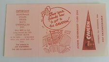 THE CAVERN CLUB Original 1964 JUNIOR MEMBERSHIP CARD (GIRLS) BEATLES MERSEYBEAT