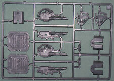 Games workshop Space marine del caos Land Raider pistola e accessori canale di colata.