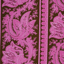 Jennifer Paganelli Sis Boom Crazy Love Cecilia Fabric in Brown JP61 100% Cotton