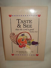 Taste & See That the Lord Is Good - 1994 Cook Book Like New