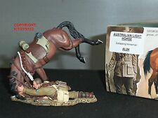 KING AND COUNTRY AL24 AUSTRALIAN LIGHT HORSE COLLAPSING HORSEMAN TOY SOLDIER