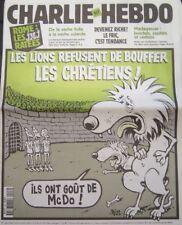 CHARLIE HEBDO 426 AOUT 2000 RISS ROME JMJ RATEES LES LIONS REFUSENT DE BOUFFER