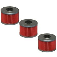 Oil Filter 3-Pack for HONDA 1983-88 XL600R 1985-02 XR600R 1993-15 XR650L HF112