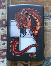 ANIMALS DRAGON WITH ZIPPO ZIPPO LIGHTER FREE P&P FREE FLINTS