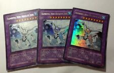 3x Elemental Hero Absolute Zero Ultra Rare YG04-EN001  NM
