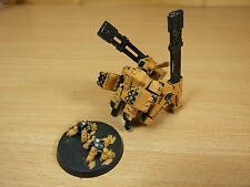 PLASTIC AND METAL TAU XV88 BROADSIDE BATTLESUIT PAINTED (011)