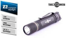 New SolarForce Z2 Cree XP-G2 R5 120 Lumens LED Flashlight ( 2A, AA )